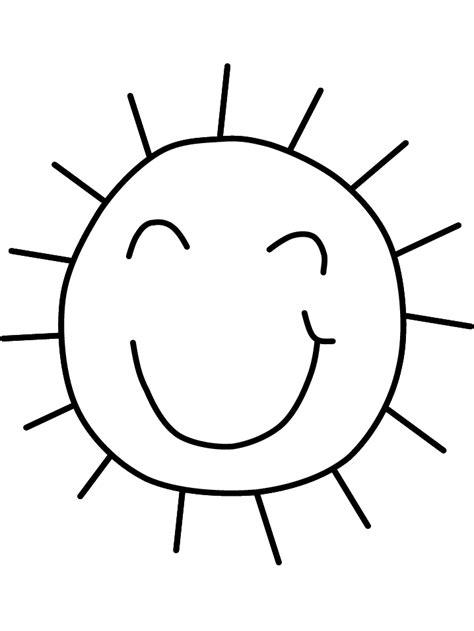 Printable Sun Coloring Pages Coloring Me Sun Colouring Page
