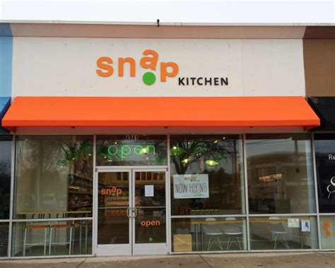 Snap Kitchen Dallas by Snap Kitchen Opens In Dallas Food