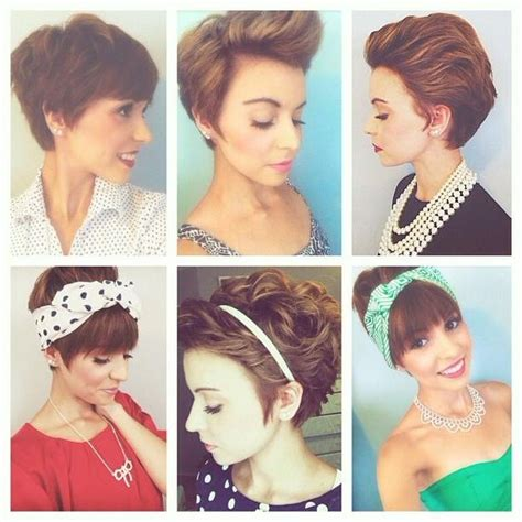 growing short hair to midlenght grow out pixie haircut haircuts models ideas