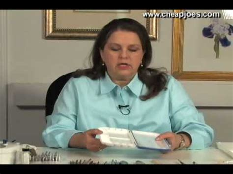 cheap joe s watercolor tutorial watercolor palettes and tips with nancy couick part 2 of