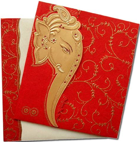 indian wedding invitations cards designs