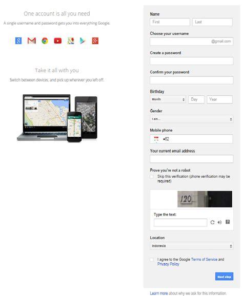 membuat account google mail cara membuat email baru gmail google mail untuk pemula