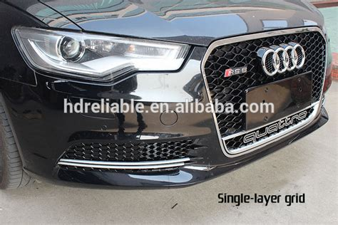 Audi A6 C6 Front Grill by For Audi A6 C6 Front Grille For Audi A6 Rs6 A6 Chrome