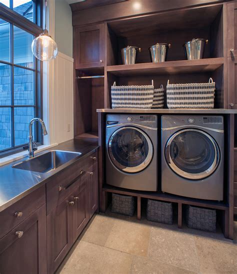 Laundry Room Built Ins Design Ideas Built In Wall Laundry