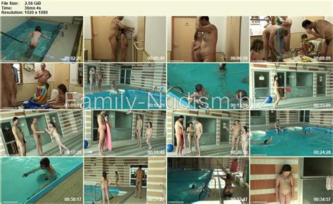 Family Waterpool Funs Purenudism Video Family Nudism Biz
