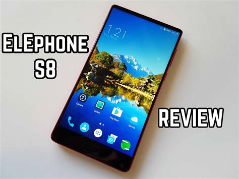 Elephone S8 elephone s8 review 2k all screen great budget smartphone