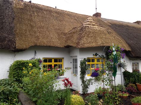 thatched cottages ireland file thatched cottage in adare ireland july 2013 jpg