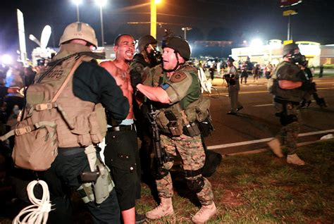 Ferguson Mo Arrest Records 78 Arrested Overnight Most From Missouri Arrest Records Show Nbc News