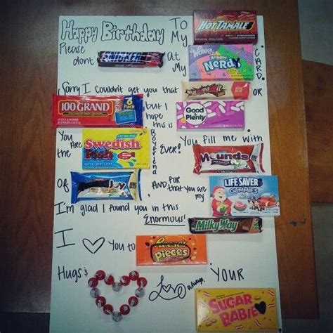 25 best ideas about candy card boyfriend on pinterest