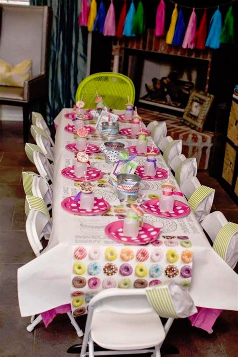 themed birthdays ideas kara s party ideas donut themed birthday party kara s