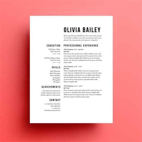 Free Online Resume Templates by Resume Tips That Get You Noticed