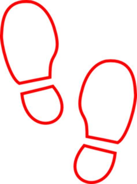 shoe prints clip clipart best
