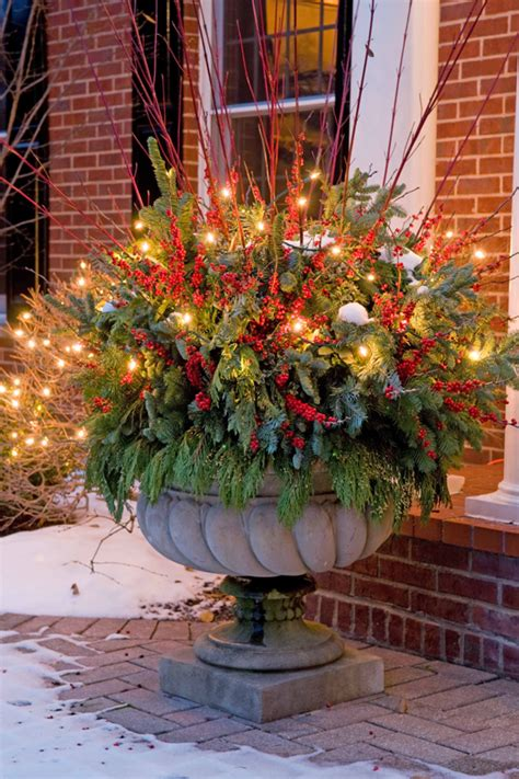 Fall Front Porch Decorations - holiday outdoor decorating tips from mariani landscape traditional home