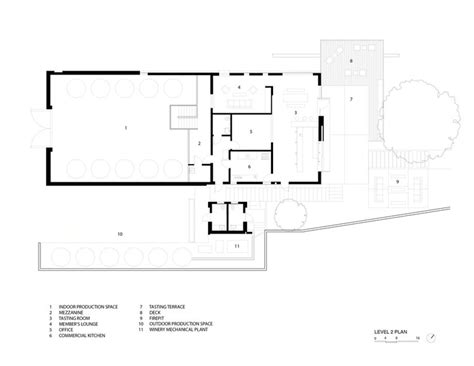 winery floor plans brecon estate winery aidlin darling design archdaily