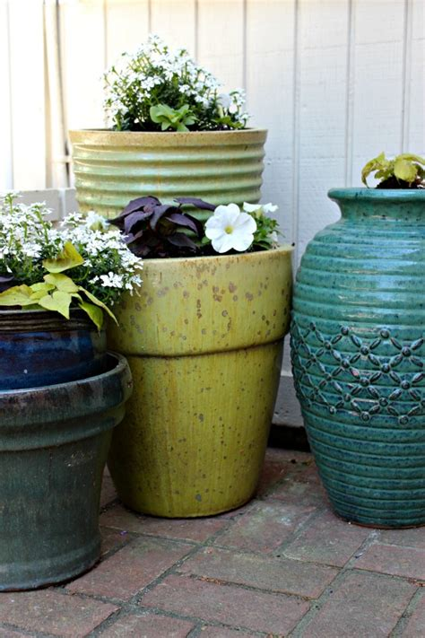Stacked Planters by Five Minute Friday Stacked Flower Pots Southern State
