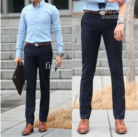 Kaos Berak Business S M L Xl 2018 drop shipping 2013 new business trousers casual