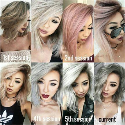 lavender hair color formula 6 of bescene s coolest color formulas behindthechair com