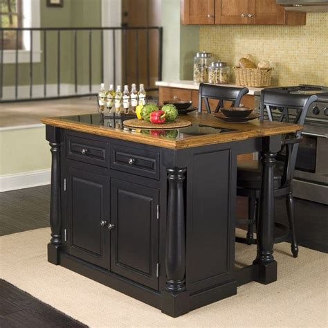 compact kitchen island compact kitchen islands with stools from darkwood material