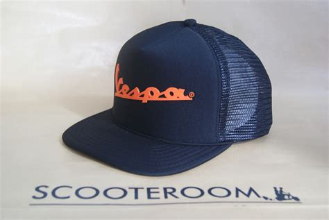 Topi Trucker Hat V46 scooteroom malang topi trucker vespa volkswagen