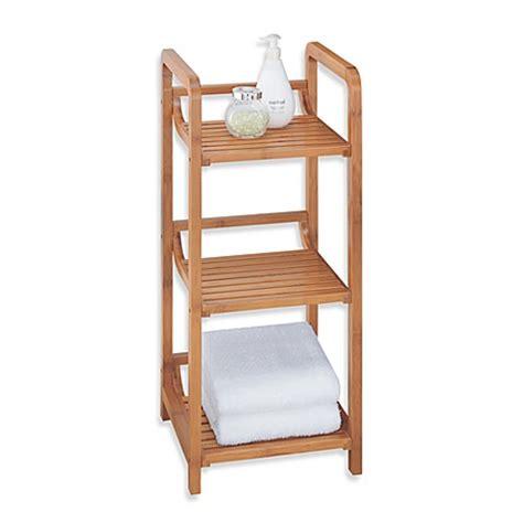 bed bath beyond bamboo bathroom furniture neu home lohas 3 tier bamboo floor tower bed bath beyond
