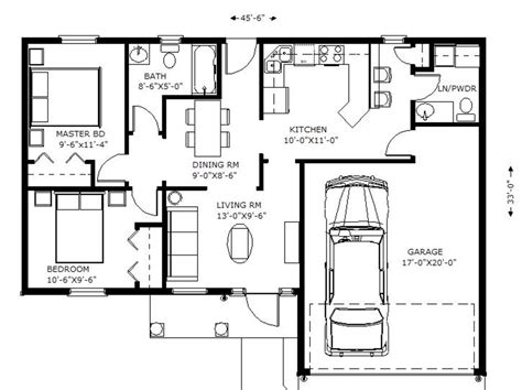 1100 square home plans house style ideas