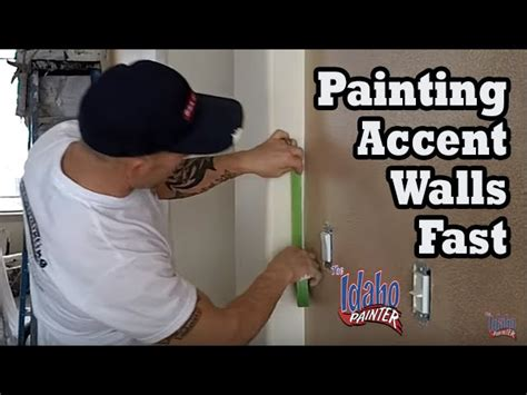 paint walls faster by starting on the left if you re right painting an accent wall or room different colors spring tx