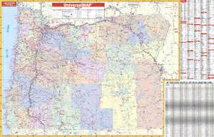 oregon map with cities and towns oregon wall maps national geographic maps map quest