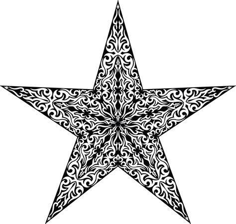 tribal star tattoos nautical tattoos designs