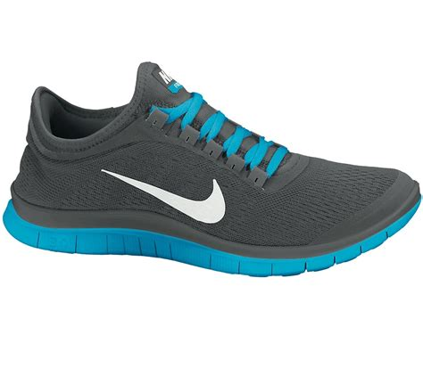 nike sneakers nike free 3 0 v5 running shoes gray blue white