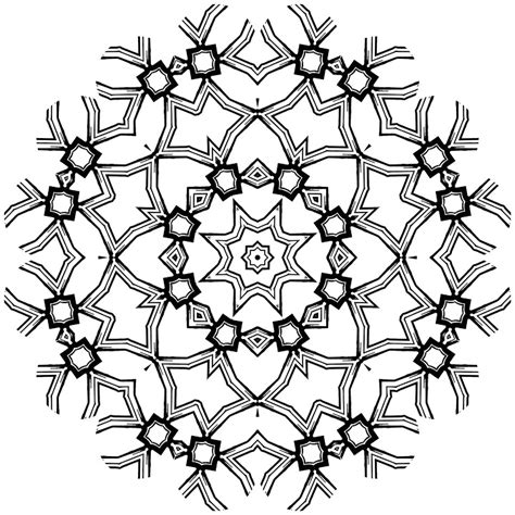 Free Printable Geometric Coloring Pages For Adults Free Printable Designs To Color
