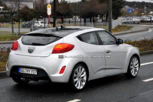Hyundai Velostet Scoop European Hyundai Veloster Coupe Shows Its