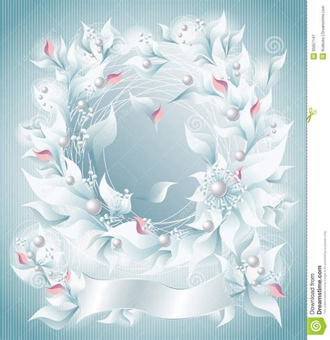 frame  background  flowers pearls petals rib royalty