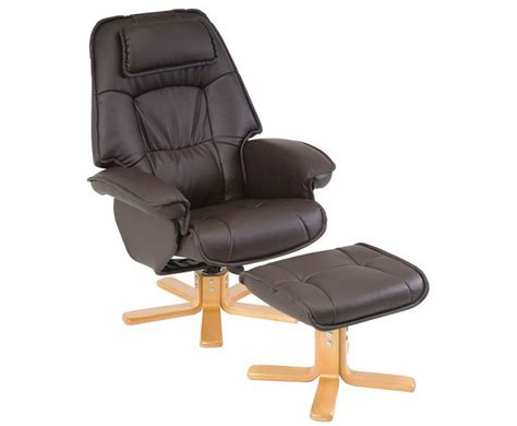recliner chair with stool avanti brown swivel recliner chair uk delivery