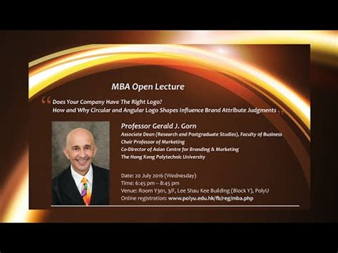 Polyu Mba by Polyu Mba Open Lecture Does Your Company The Right