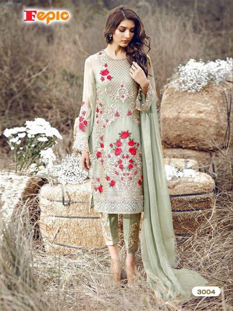 designer heavy work pakistani salwar suit kameez party