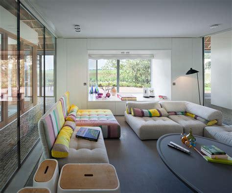 historic dutch barn hides modern home modern house designs