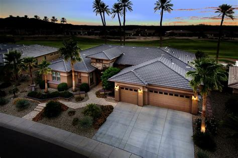 sun city grand arizona cimarron golf course homes