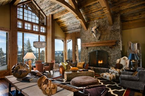 rustic family room 30 rustic chalet interior design ideas architecture
