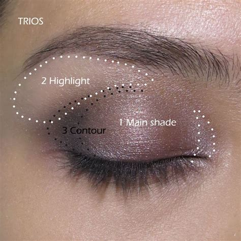 eyeshadow tutorial bright how to use duos trios quads quintets step by step