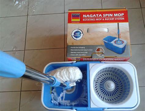 Spin Mop Nagata sekarang ngepel jadi seru nulis
