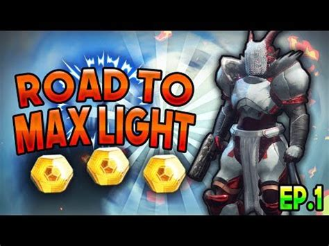 destiny 2 max light level destiny 2 the beginning road to max light level ep 1