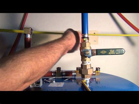 How To Run Plumbing How To Install Pex Pipe Waterlines In Your Home Part 4