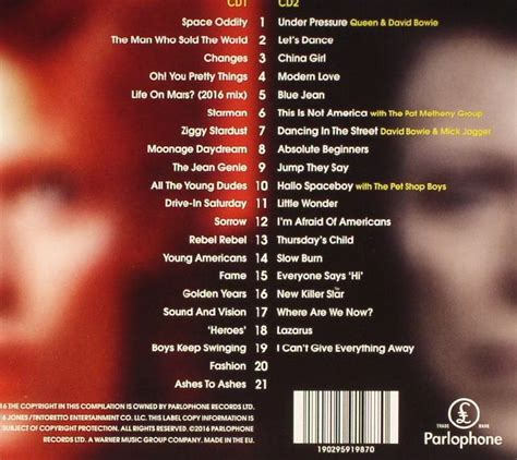 bowie best of david bowie legacy the best of david bowie deluxe