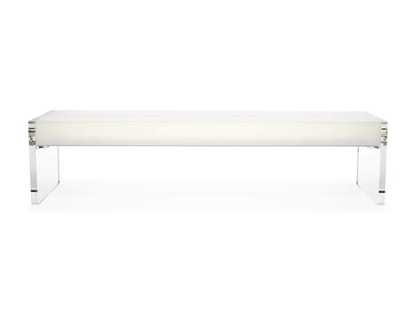 benches clear light acrylic bench chairs benches pab light bench 7