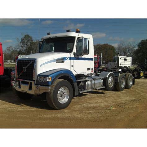 2008 volvo tractor 2008 volvo vhd64 tri axle truck tractor j m wood