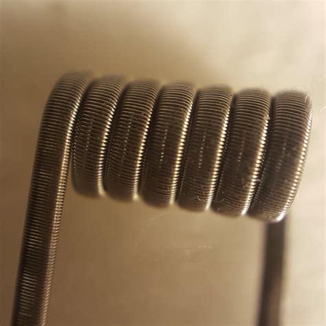 Coil Fused Claptone Nichrome Ni8 fused clapton coils pair