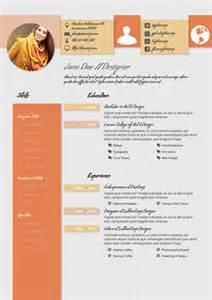 design haven creative cv resume template a4 portrait