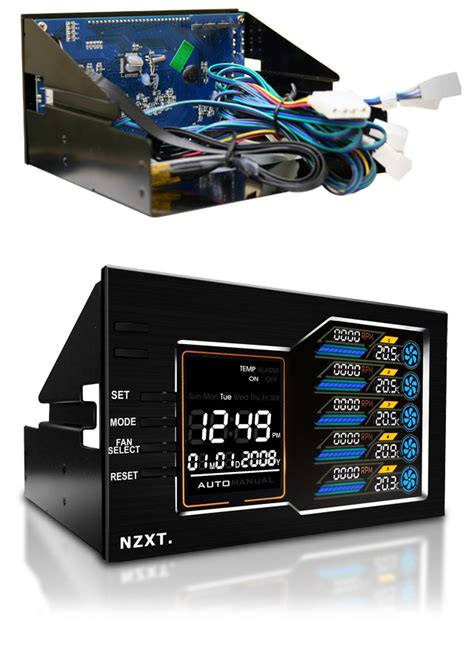 Nzxt Sentry Lx Terpercaya nzxt sentry lx dual 5 25in lcd fan controller nzxt sentrylx 59 00 pc gear