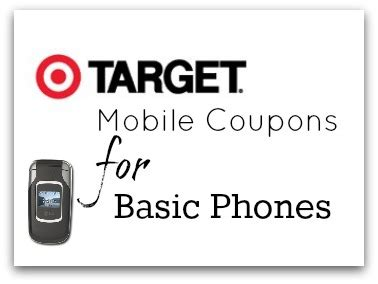 Coupons On Your Mobile Phone by How To Get Target Mobile Coupons Without A Smartphone