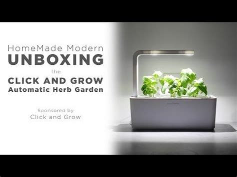 click and grow smart herb garden w l 3 refills basil 17 best images about nao robot and robotics on pinterest